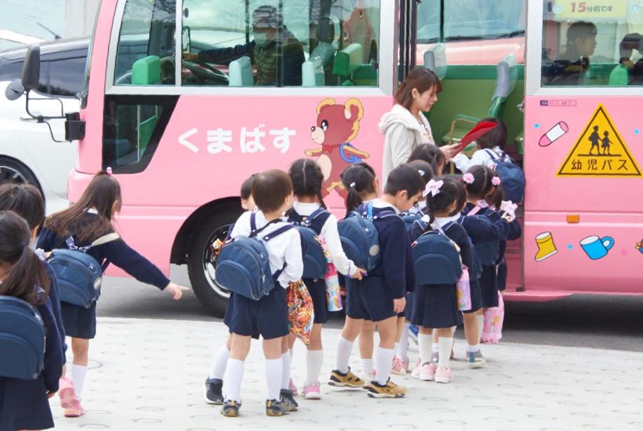 バスの通園範囲